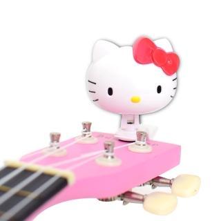 【拓弦音樂】Hello Kitty 三麗鷗正版授權 5合1 夾式 調音器(kitty 調音器)