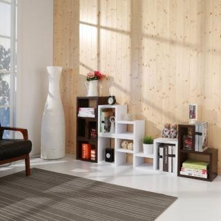 【Buyjm】環保低甲醛超厚2.5公分創意組合收納櫃/書櫃/電視櫃(三色可選)
