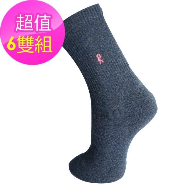 【Roberta di Camerino 諾貝達】Merino 美麗諾羊毛襪-6雙(義大利設計師品牌)