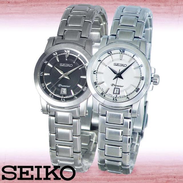 【SEIKO 精工】羅馬時光-藍寶石水晶典雅女錶(SXDF41P1_SXDF43P1)