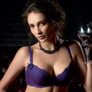 【LADY】阿蒂蜜絲系列 B-F罩 內衣(迷情紫)