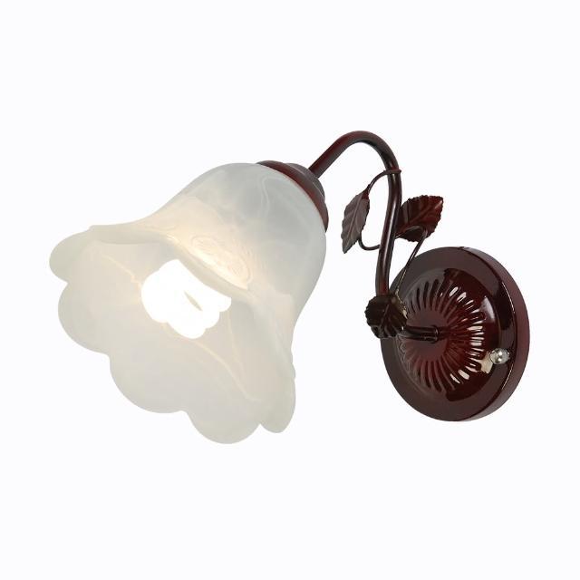【華燈市】聖卡提雅花朵單壁燈(田園美式風)