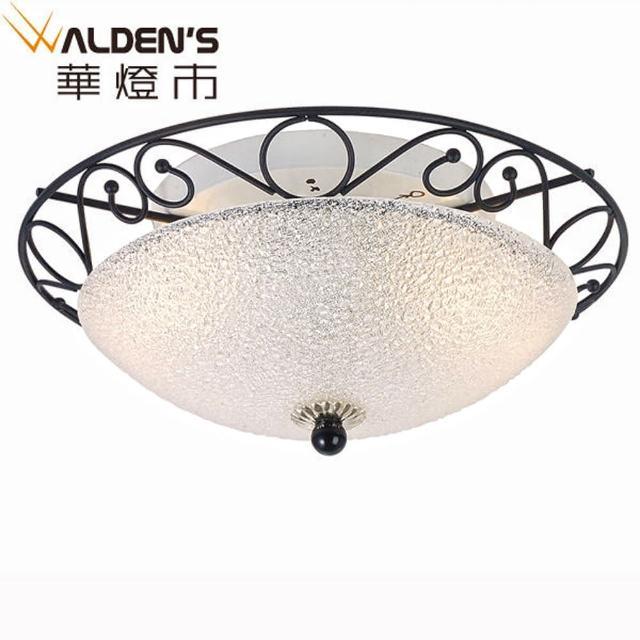 【華燈市】伊斯凡玻璃吸頂2燈(現代中國藝術風)