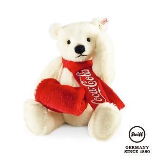【STEIFF德國金耳釦泰迪熊】可口可樂北極熊(限量版)