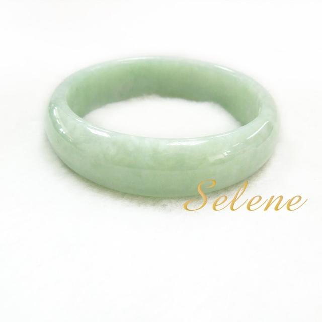 【Selene珠寶】雅緻芙蓉翡翠手鐲