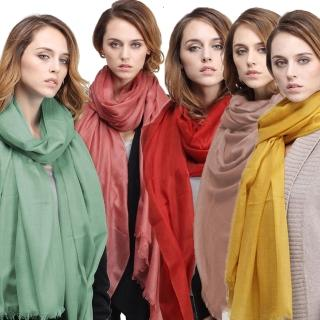 【Seraphic】300支紗100%CASHMERE頂級羊絨披肩