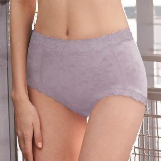 【曼黛瑪璉】2013AW 高腰三角修飾褲(低調紫)