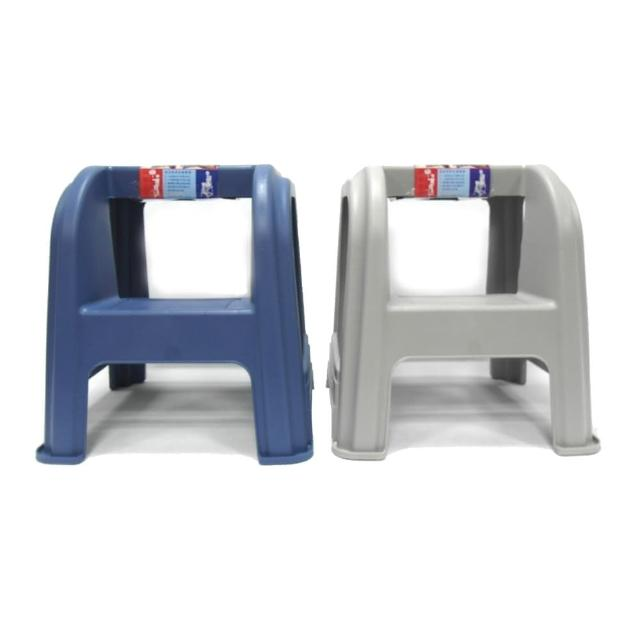 【生活King】二階梯椅/工作梯(2色可選)