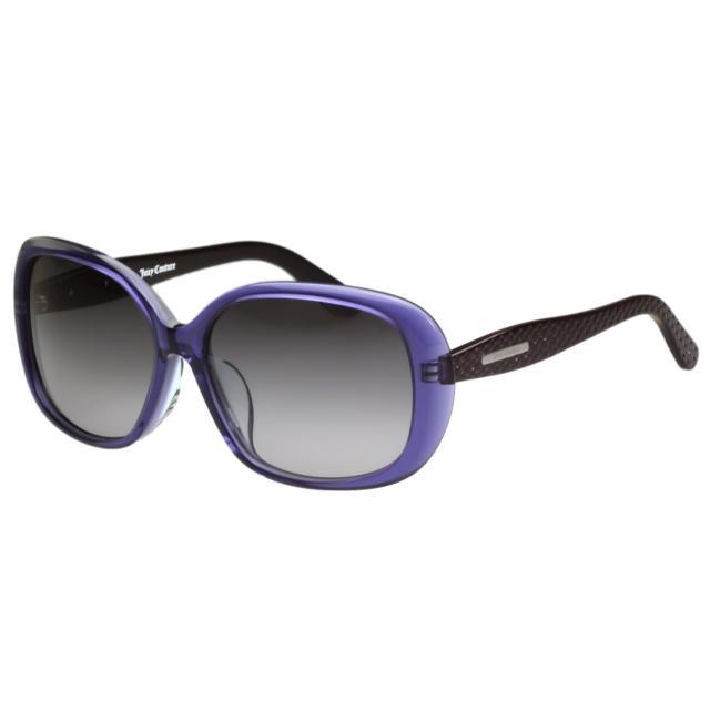 【Juicy Couture】-時尚太陽眼鏡(紫色)