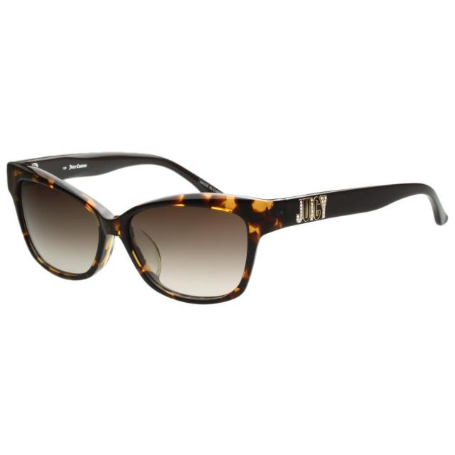【Juicy Couture】-時尚太陽眼鏡(琥珀色)