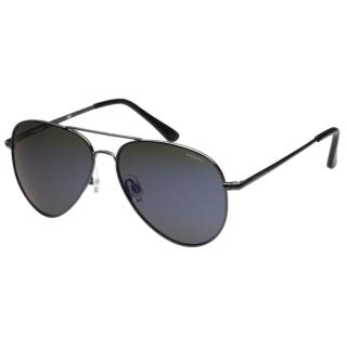 【Polaroid 寶麗萊】-偏光太陽眼鏡(反光藍色)