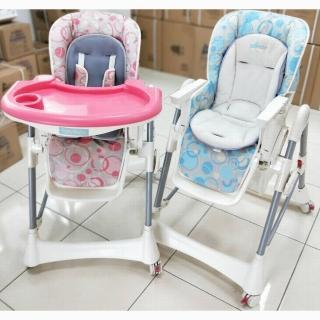 【EASY BABY】台南製造-第六代豪華版兒童餐桌椅.安全兒童餐椅.兒童用餐-升級為四個剎車輪(破盤價)