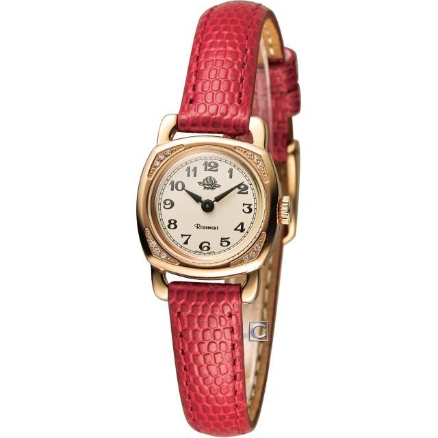 【Rosemont】玫瑰錶迷你版玫瑰系列 時尚腕錶(TRS-029-05-RD)