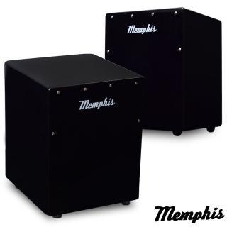【拓弦音樂】Memphis 雙效果吉他響線木箱鼓/鈴鐺效果/送專用背袋/黑色(CA011-01/黑色)