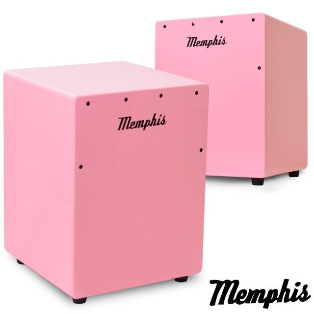 【拓弦音樂】Memphis 雙效果吉他響線木箱鼓/鈴鐺效果/送專用背袋/粉色(CA011-05/粉色)