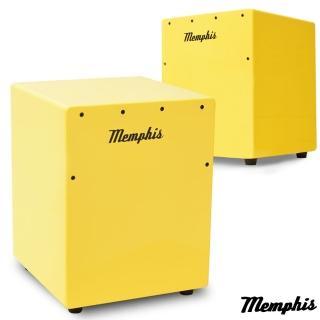 【拓弦音樂】Memphis 雙效果吉他響線木箱鼓/鈴鐺效果/送專用背袋/黃色(CA011-06/黃色)