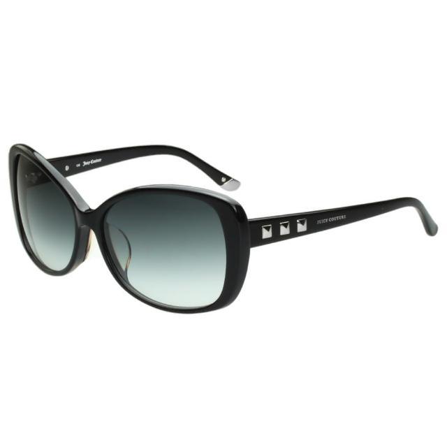 【Juicy Couture】-鉚釘風 太陽眼鏡(黑色)
