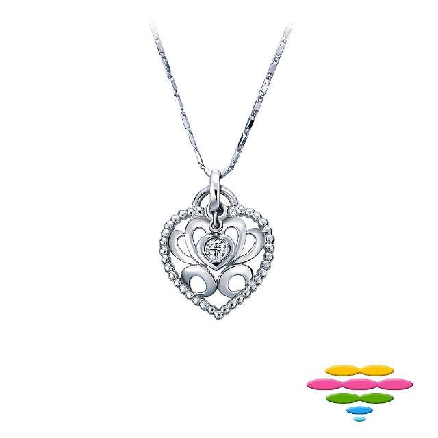 【彩糖鑽工坊】永結同心系列 鑽石項鍊(CL-PD162)
