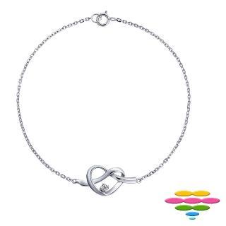 【彩糖鑽工坊】永結同心系列 鑽石手鍊(CL-BD05)