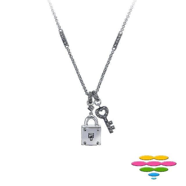 【彩糖鑽工坊】925純銀 寶石項鍊(Rainbow系列)