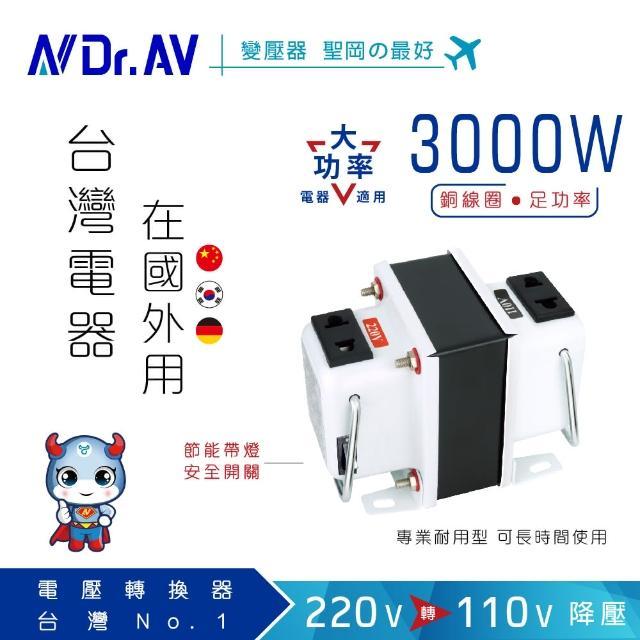 【Dr.AV】GTC-3000 專業型升降電壓調整器(專業型)