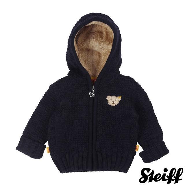 【STEIFF德國精品童裝】長袖 連帽 羊毛 外套(外套)