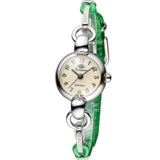 【Rosemont】玫瑰錶藤蔓玫瑰系列I 時尚腕錶(TRS04-02-AR-GN)