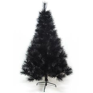 【聖誕樹】台灣製4尺/4呎120cm特級黑色松針葉聖誕樹裸樹-不含飾品-不含燈黑/
