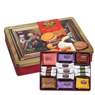 【盛香珍】糕餅舖禮盒520g(內含8款經典餅乾)