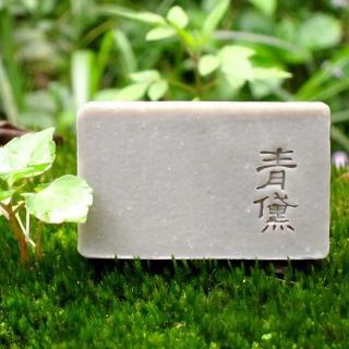 【文山手作皂】青黛護理皂_皮屑角質護理 問題肌膚調理(所有膚質適用)
