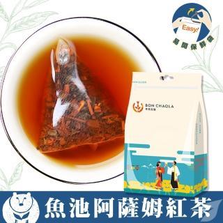 【台灣茶人】魚池阿薩姆紅茶3角立體茶包(產地直送18包/袋)