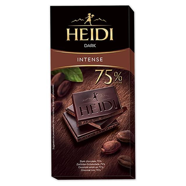 【即期品】赫蒂 75%黑巧克力80g