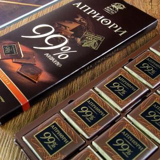 【俄羅斯BK】99%黑巧克力 100g