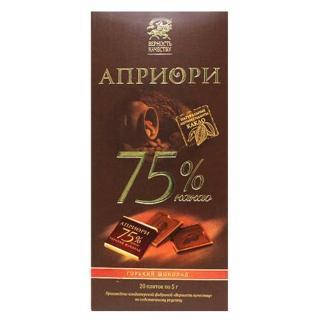 【BK】75%黑巧克力 100g