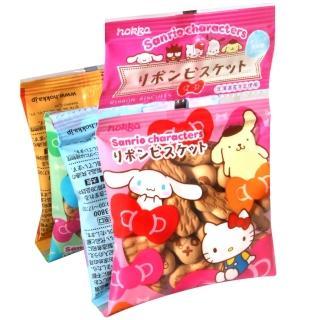 【北陸製果】Hello Kitty蝴蝶結餅乾4入(80g)