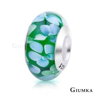 【GIUMKA】925純銀魔法珠飾 琉璃幻彩串珠珠飾 甜美淑女款 MNS4002-D(雞蛋花-綠)