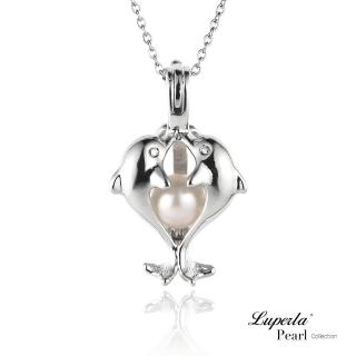 【大東山珠寶】擁抱珍心珍珠項鍊