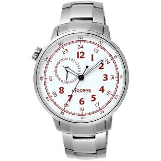~LICORNE~驚險時刻腕錶~白x銀 LI036MWWI