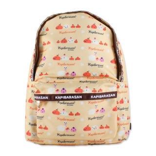 【kapibarasa】水豚君甜點系列後背背包(黃色)