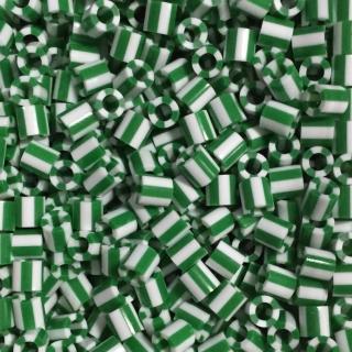 【Perler 拼拼豆豆】1000顆單色補充包-122薄荷條紋(特殊色)