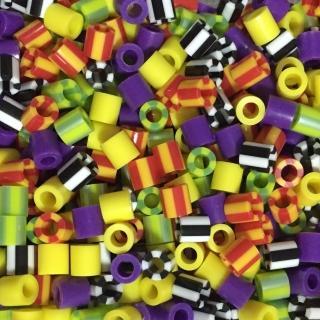 ~Perler 拼拼豆豆~1000顆混色補充包~135化妝舞會色系 特殊色