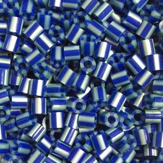 【Perler 拼拼豆豆】1000顆單色補充包-143藍寶石條紋(特殊色)