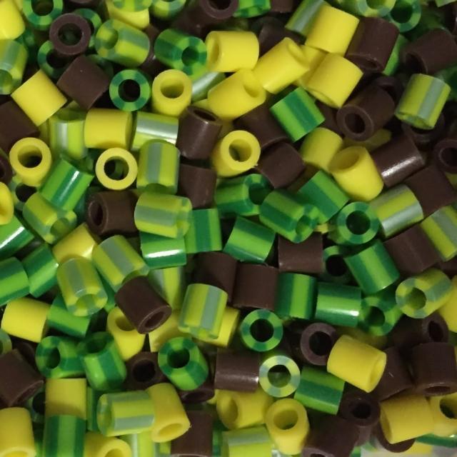 【Perler 拼拼豆豆】1000顆混色補充包-166花園色系(特殊色)