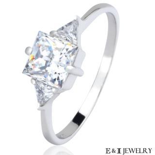 【E&I】燦爛的愛-鋯鑽戒指