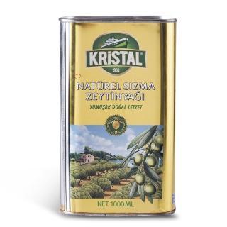 【買一送醬油2瓶 Ecolife綠生活 KRISTAL】純天然頂級第一道初榨冷壓橄欖油(六瓶一組金黃色錫瓶包裝)