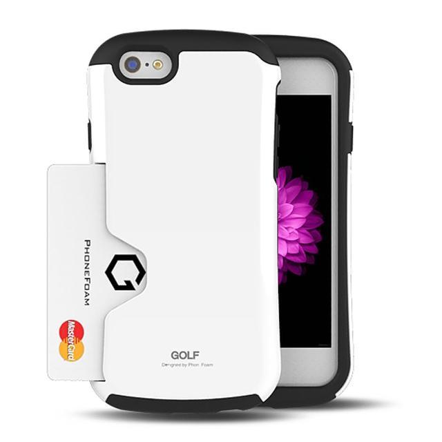 【PhoneFoam】Golf iPhone 6 插卡式防震保護殼