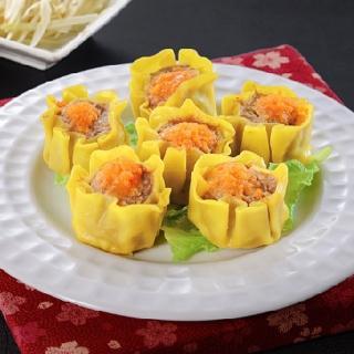 【鮮食家任選799】禎祥蟹黃燒賣(600g/30粒/包)
