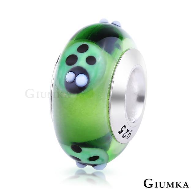 【GIUMKA】925純銀魔法珠飾 琉璃幻彩串珠珠飾 甜美淑女款 MNS4002-I(小瓢蟲)