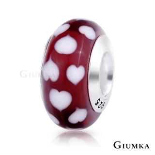 【GIUMKA】925純銀魔法珠飾 琉璃幻彩串珠珠飾  甜美淑女款  MNS4002-G(愛心)