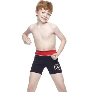 【SARBIS】MIT泡湯SPA兒童五分泳褲(附泳帽B63403)